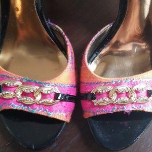 Carlos Santana Shoes - Carlos Santana Open Toe Heels.